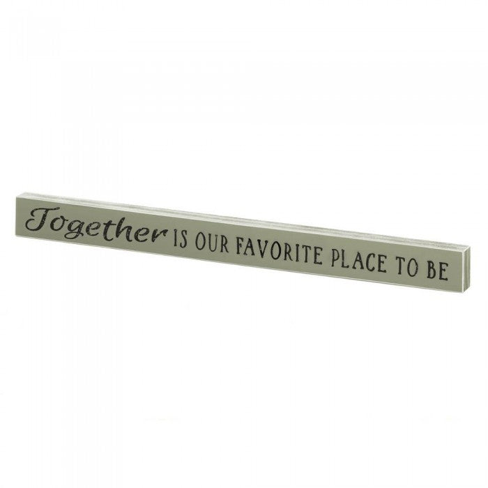 Together Wooden Sign - Giftspiration