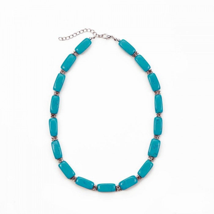 Turquoise Bead Necklace - Giftspiration