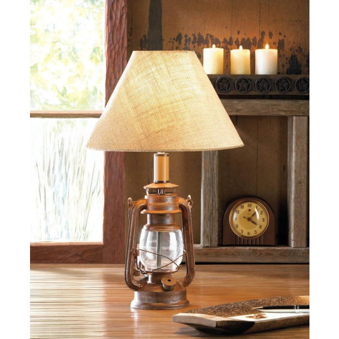 Vintage Camping Lantern Table Lamp - Giftspiration