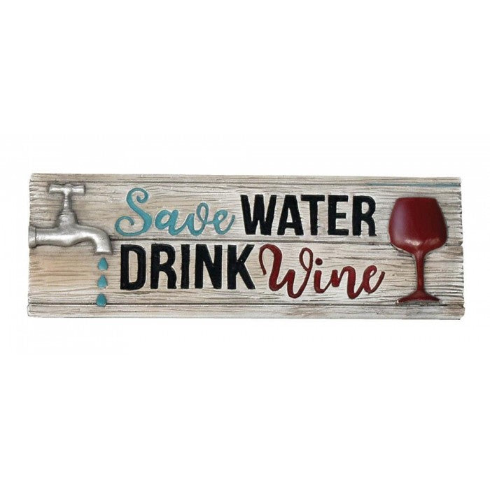 Water & Wine Decorative Sign - Giftspiration