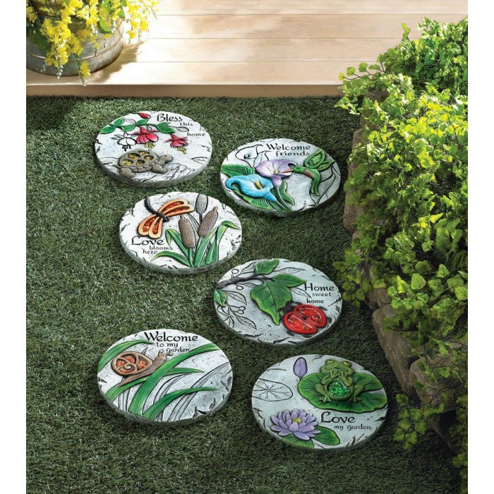 Welcome To My Garden Stepping Stone - Giftspiration