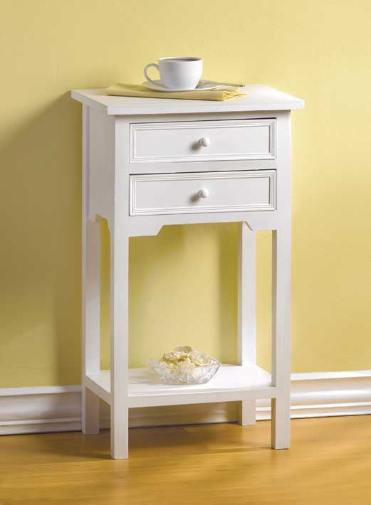 White Accent Table - Giftspiration
