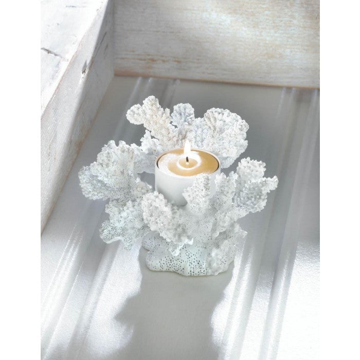 White Coral Candle Holder - Giftspiration