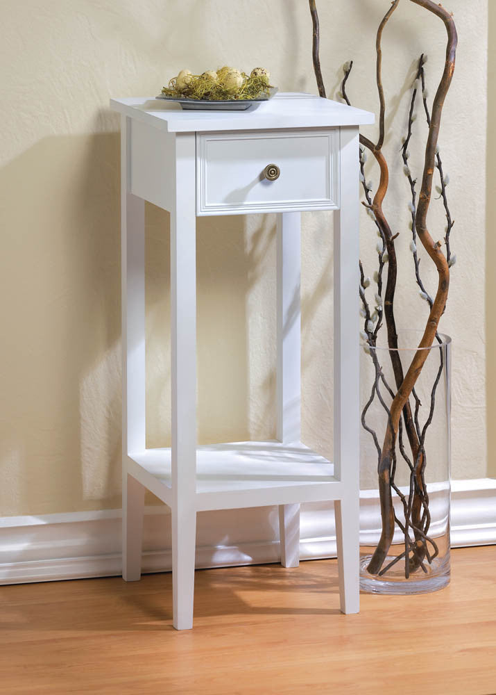 Willow White Side Table - Giftspiration