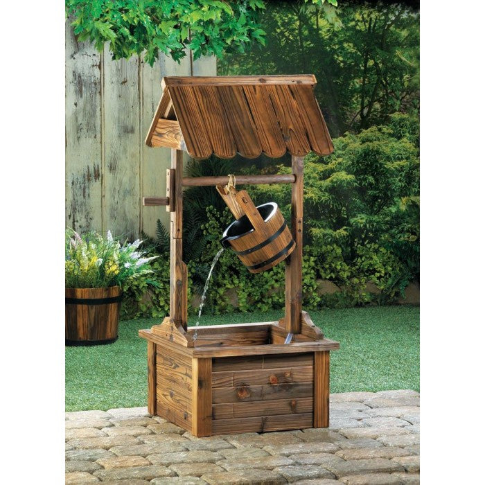 Wishing Well Water Fountain - Giftspiration