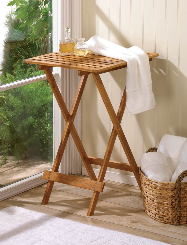 Wood Folding Tray Table - Giftspiration