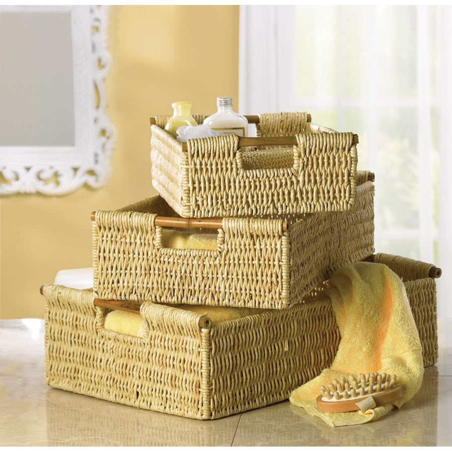 Woven Corn Nesting Baskets - Giftspiration