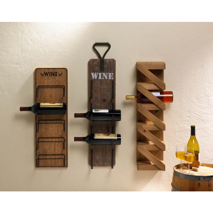 Fantastic Unique Wine Bottle Holders You'll Love at Giftspiration XM91