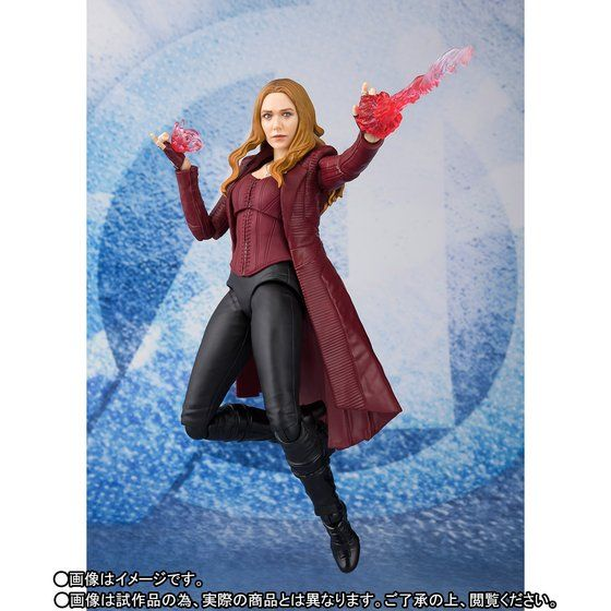 (Pre-Order) S.H. Figuarts Avengers: Infinity War - Scarlet Witch TamashiWeb Exclusive