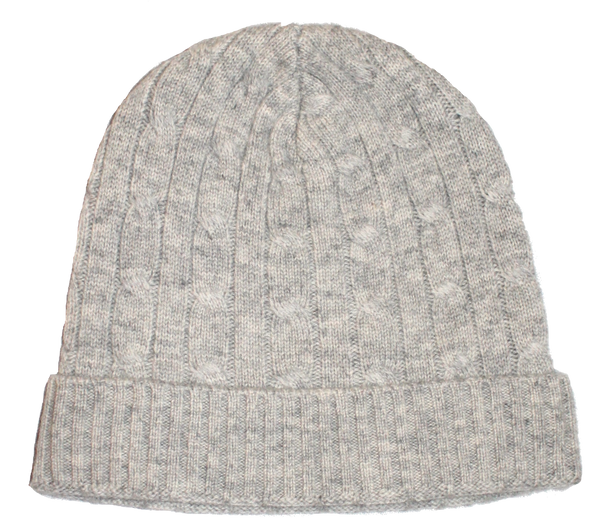 Cabled-Knit Beanie