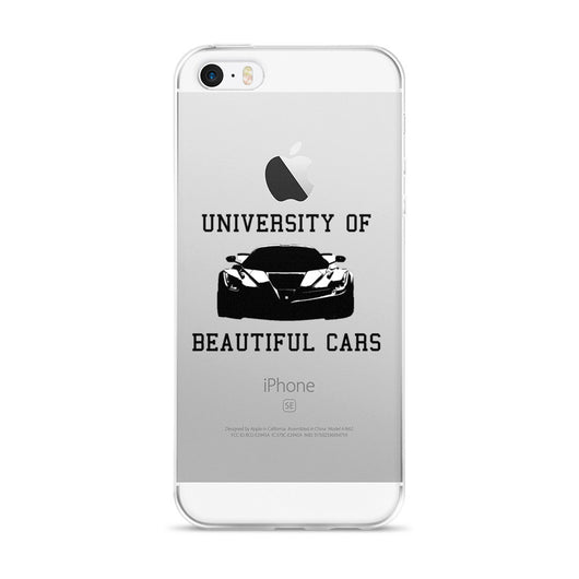 University of Beautiful Cars iPhone case
