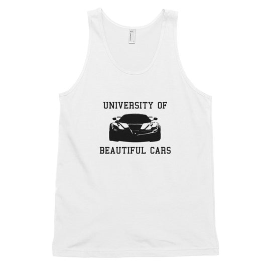 University of Beautiful Cars tank top