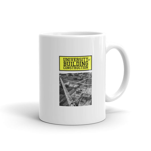 University of Building Construction mug