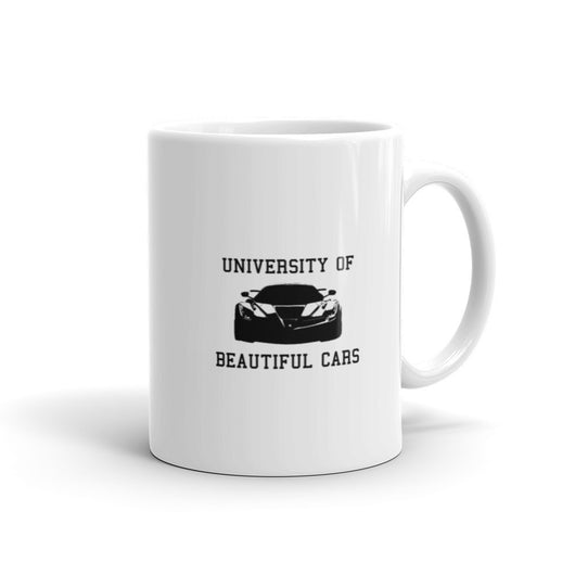 University of Beautiful Cars mug