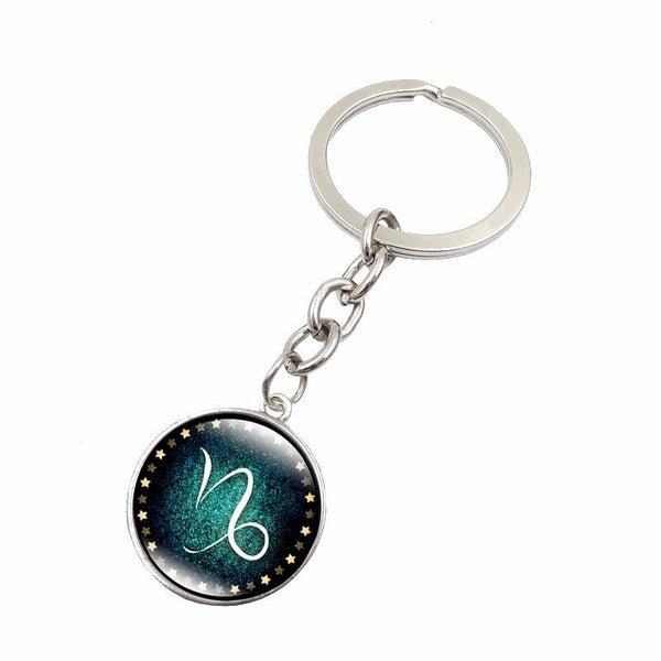 Zodiac Symbol PROTECTION Key Chain