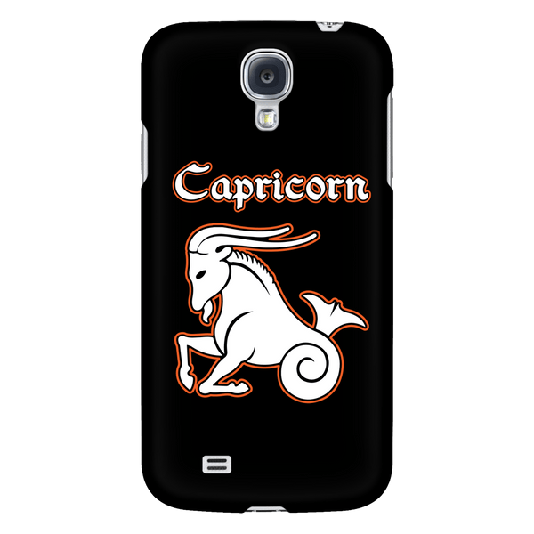 Capricorn iPhone & Samsung Phone Case – Black