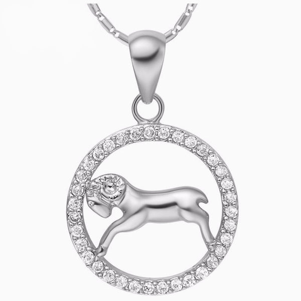 Luxurious Zodiac Silver Necklace - Zody Nation