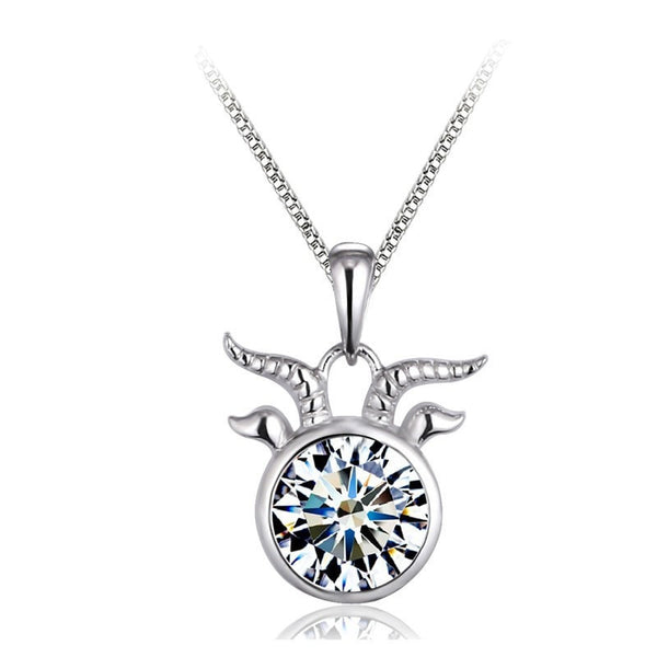 Taurus Crystal Necklace