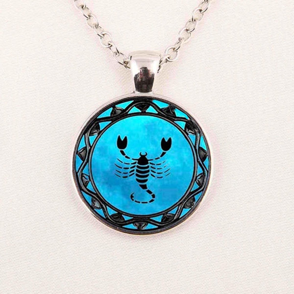Blue Zodiac Necklace & Pendant - Zody Nation
