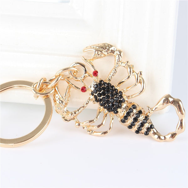 Luxurious Golden Scorpio Key Chain - Zody Nation