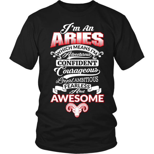 Aries Personality Shirt