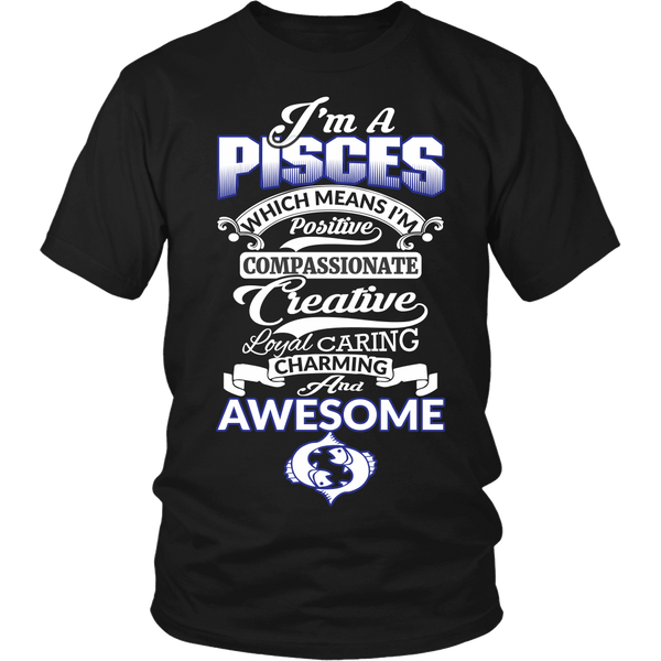 Pisces Personality Shirt