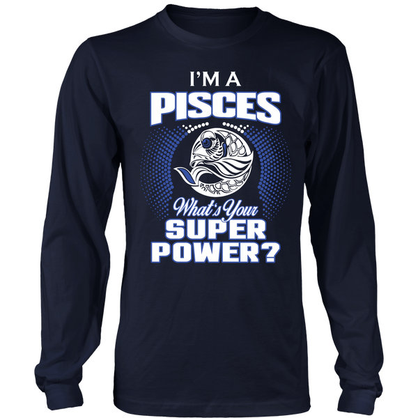 Pisces Super Power Shirt & Hoodie - Style 2