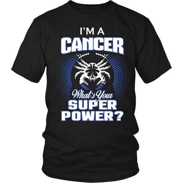 Cancer Super Power Shirt & Hoodie