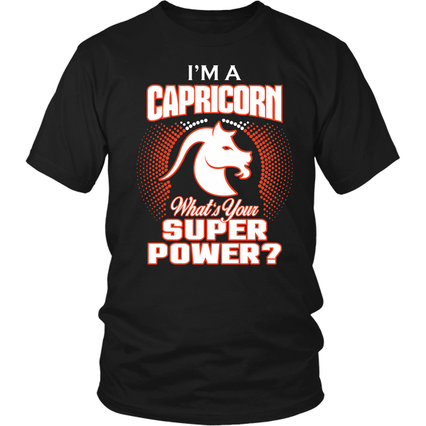 Capricorn Super Power Shirt & Hoodie
