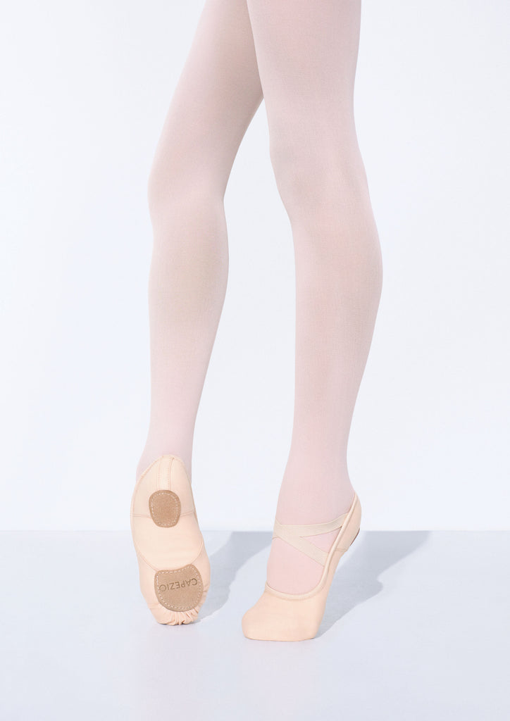 Capezio Hanami Split Sole Canvas Ballet Shoe - White