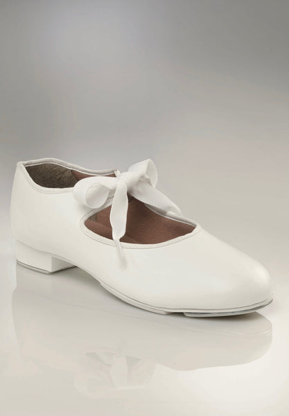 Capezio JR Tyette Tap Shoes - White