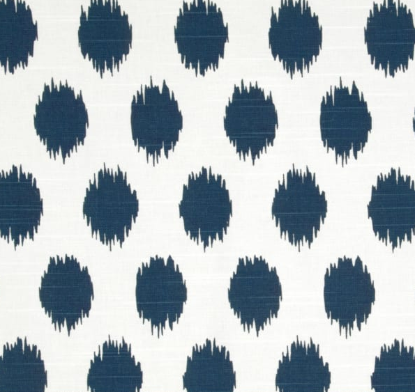 Navy Splash Set of 2 Pillows 22 x 22""