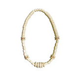Tribal Classic Necklace - White