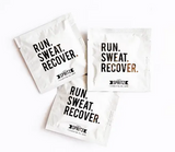 Run Sweat Recover Towelettes 7 Day Bag