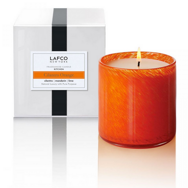 Lafco Candle - Large  Kitchen Cilantro Orange