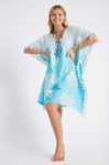 Indra Kaftan - Turquoise (Arriving May 2021)