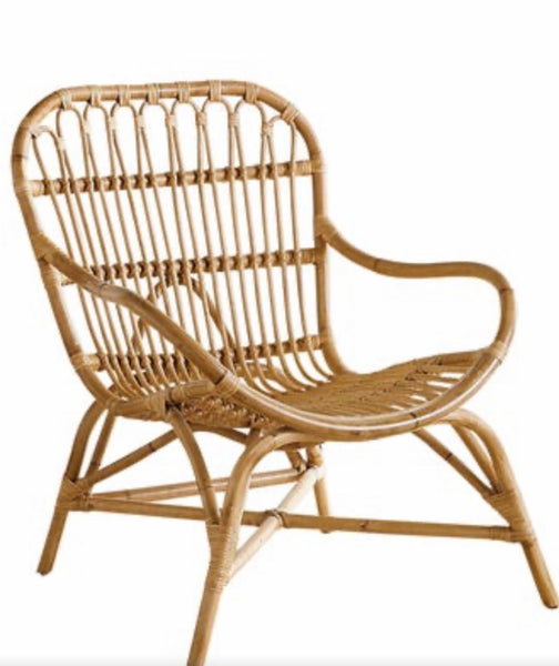 HONEY RATTAN CHAIRS STYLE A, SET OF 2 (WINDOW)