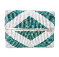 Bali Cocktail Clutch - Aqua
