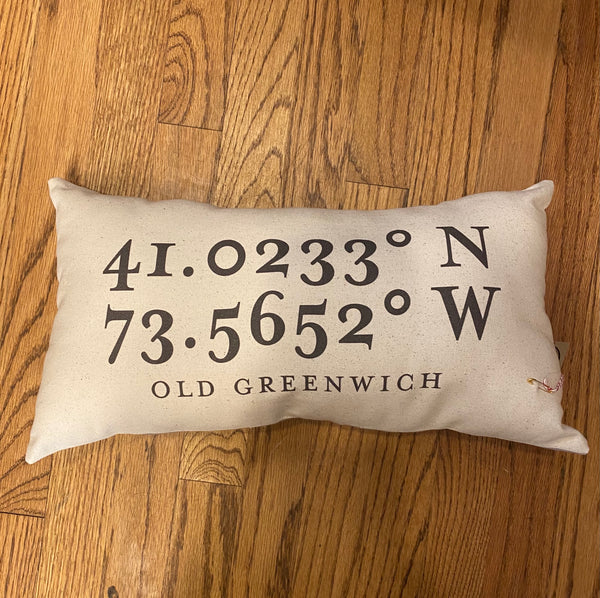 Old Greenwich Pillow