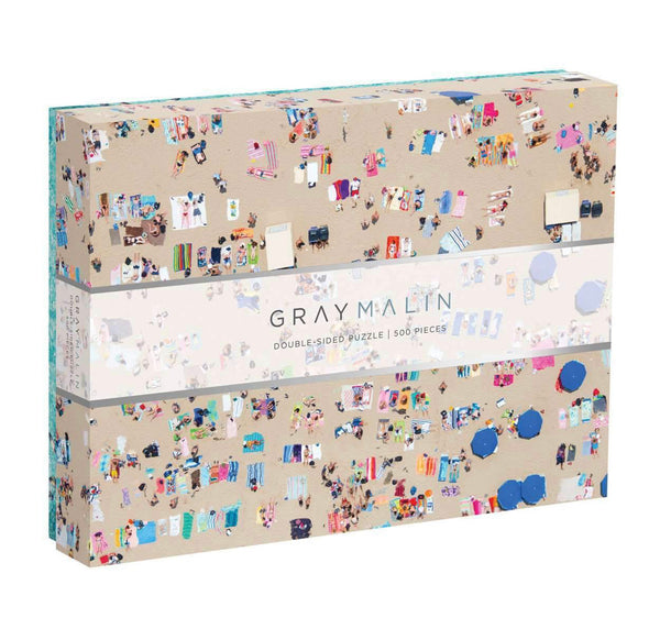 Gray Malin Puzzle Beach, double sided!!