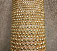 4mm Gold Filled Seamless Bead Bracelet