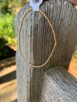 2mm Gold Filled Seamless Bead Bracelet