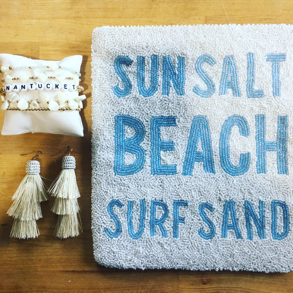 Sun Salt Beach Surf Sand Clutch