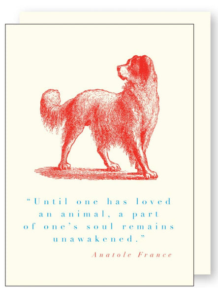 Until one has loved...  Greeting Card