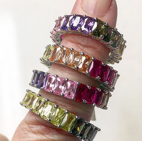 Thick Rainbow Ring