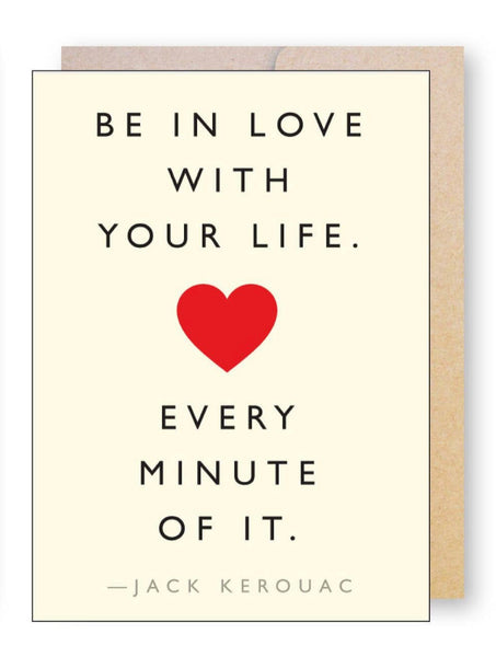 Be In Love With...  Greeting Card