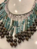 Fringe African jade Necklace