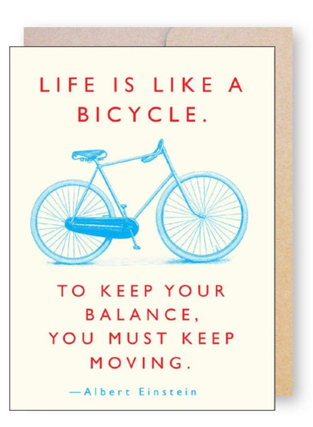 Bicycle...  Greeting Card