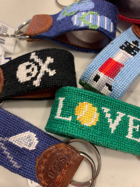 Needlepoint Key Chains