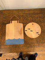 Nested Fish and Water Cutting Boards
